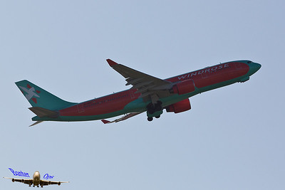 Airbus A.330 UR-WRQ Wind Rose Aviation Co