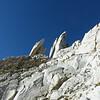 Huge granite blades