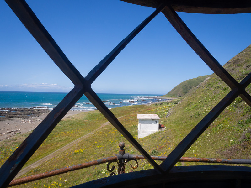 View north from the lighthouse