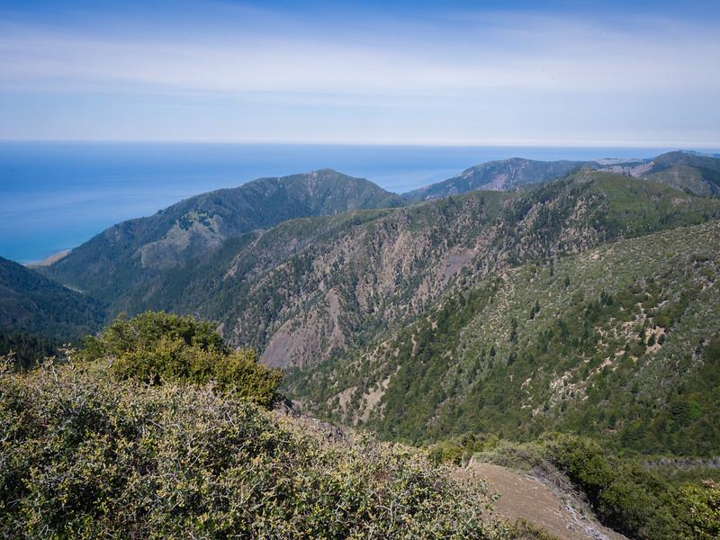 Northwest from King Peak