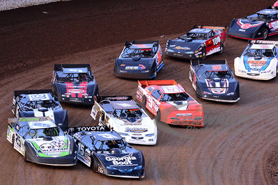Heat Race Action @ Lucas Oil Speedway