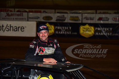 Brian Birkhofer won the Crawford Supply/Traeger Grills Race of Champions