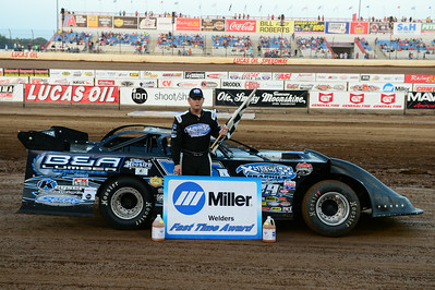 Justin Asplin won the Miller Welders Fast Time Award