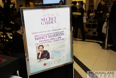 Macy's Culinary Council Chef event with Chef Nancy Silverton