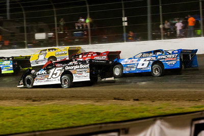 Steve Francis (15), Wendell Walace (6m), Ray Cook (53) and Chad Thrash (1)