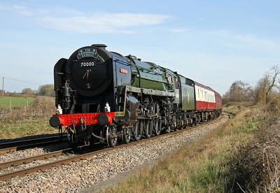 70000 Oakley 15/03/14 1Z82 Southend to Salisbury