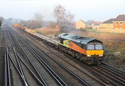 66850 Worting Junction 13/03/14 6Y42 Hoo Junction to Eastleigh