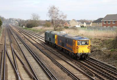 73141 Worting Junction 17/03/14 0Y67 Hoo Junction to Eastleigh
