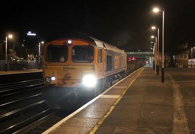 66710 Eastleigh 15/03/14 6G10 Eastleigh to Southampton