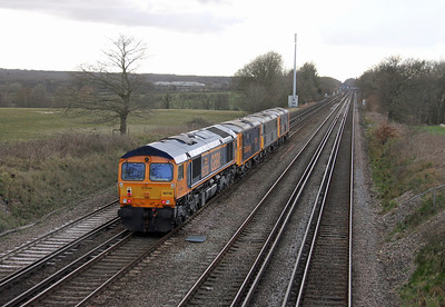 66730 Potbridge 01/03/14 0Y19 Hoo Junction to Eastleigh