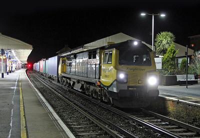 70017 Basingstoke 03/03/14 4M40 Southampton to Trafford Park