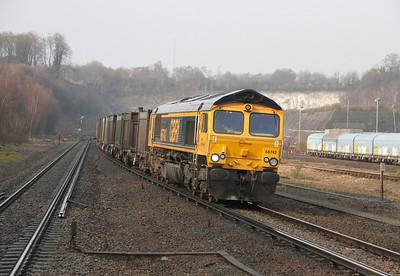 66742 Micheldever 27/03/14 4Y19 Mountfield to Southampton Western Docks