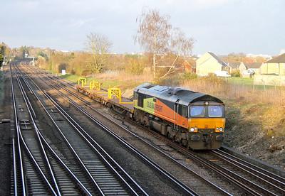 66849 Worting Junction 18/03/14 6Y42 Hoo Junction to Eastleigh