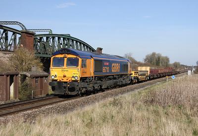 66710 Battledown 15/03/14 6G10 Redbridge to Eastleigh