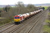 22 March 2014 :: 60020 at Cholsey with 6B33, empty oil from Theale to Margam