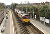 26 March 2014 :: 66016 with 66187 at Wandsworth Road working 4E26 from Dollands Moor to Scunthorpe