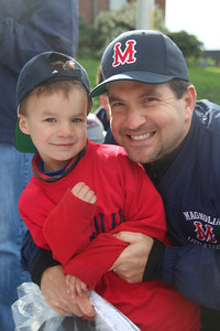 Beau and his dad, Coach Robert