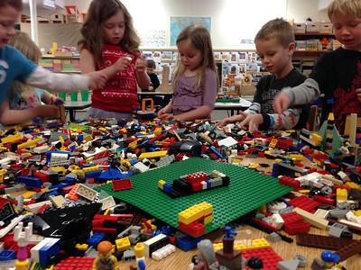 Lego day at preschool