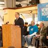 140322 Save the Hospital JOED VIERA/STAFF PHOTOGRAPHER-Newfane, NY-Sen. George Maziars speaks to Newfane Hospital ralliers at the Miller Fire Co. on Mar. 22, 2014.