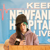 140322 Save the Hospital JOED VIERA/STAFF PHOTOGRAPHER-Newfane, NY-Harmony mattox reads a letter from her mother Mary Ball a nurses aid for newfane hospital at the Miller Fire Co. on Mar. 22, 2014. Ball could not attend due to a shift at the hospital today.