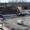 140331 Ice rink JOED VIERA/STAFF PHOTOGRAPHER-Lockport, NY-Crews continue construction on lockports Ice Arena Mar. 31, 2014.