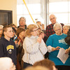 140322 Save the Hospital JOED VIERA/STAFF PHOTOGRAPHER-Newfane, NY-Newfane Hospital ralliers clap for a speech at the Miller Fire Co. on Mar. 22, 2014.