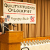 140319 Quality JOED VIERA/STAFF PHOTOGRAPHER-Lockport, NY-Principal Frank Movalli speaks at the award Ceremony for Lockport High School's Quality Students at the Co-op on Wednesday, Mar. 19th, 2014.