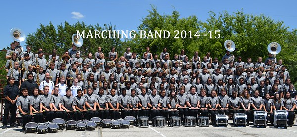 Marching Band 2014-15