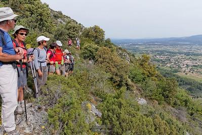 En route vers le vallon de Poussiou