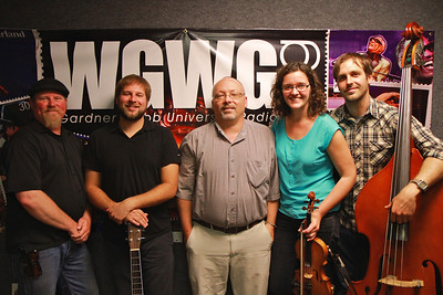The Accomplices at WGWG radio station.