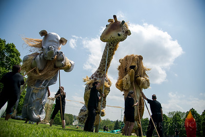 StoneLion Puppet Theater at Nelson-Atkins Lawn 05.11.14