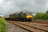 24 My 2014 :: D6700 working a train on the demonstration line during the diesel gala at the Didcot Railway Centre