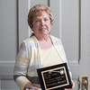 140510 Keys to the Locks JOED VIERA/STAFF PHOTOGRAPHER-Lockport, NY-Rosemary Bernard stands with the Key to the Locks Award after accepting the award at the Lockport Discovery Center. May 10, 2014