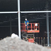 140430 Walmart JOED VIERA/STAFF PHOTOGRAPHER-Lockport, NY-Construction crews work on erecting the Walmart on Transit Road. April 30, 2014