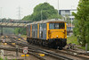 30 May 2014 :: 0Y68 from Tonbridge to Eastleigh today featured 3 Class 73's.  73207, 73119 and 73212 and are seen just outside Basingstoke station