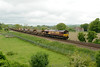 20 May 2014 :: 66031 at Little Langford on 6O41 from Westbury to Eastleigh