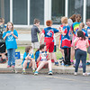 140521 Newfane Chase JOED VIERA/STAFF PHOTOGRAPHER-Newfane, NY-Newfane fourth graders relax after runnig in the one mile Panther Chase. May 21, 2014