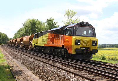 70804 Micheldever 25/05/14 6C06 Eastleigh to Crystal Palace