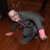 140516 Boces prom JOED VIERA/STAFF PHOTOGRAPHER-Lockport, NY-Orleans Niagara Boces lifeskills student Adam Roujex breakdances at the school districts prom. May 16, 2014