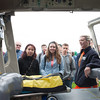 140516 Traffic JOED VIERA/STAFF PHOTOGRAPHER-Lockport, NY- The Western New York Mercy Flight helicopter is shown to students at the Niagara Regional Traffic Safety Fair . May 16, 2014