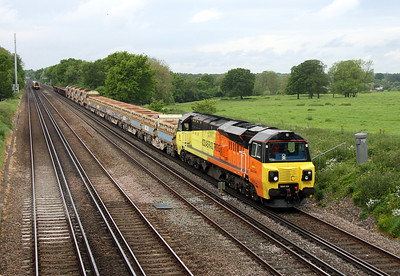 70804 Potbridge 22/05/14 6Y41 Eastleigh to Hoo Junction