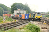 30 May 2014 :: 70016 is pictured leaving the Reading branch at Basingstoke working 4O54 from Leeds to Southampton