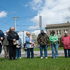 140501 National Prayer Day JOED VIERA/STAFF PHOTOGRAPHER-Middleport, NY-Residents pray at the memorial park. April 30, 2014