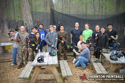 QVC & Swarthmore Team Paintball - 5/3/2014 4:25 PM