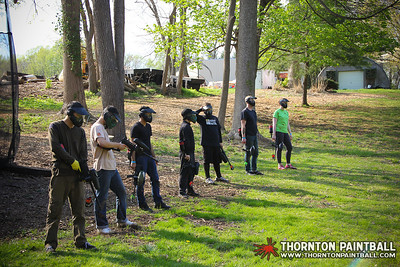 QVC & Swarthmore Team Paintball - 5/3/2014 4:50 PM