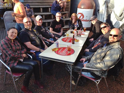 May & June Dinner Rides 2014
