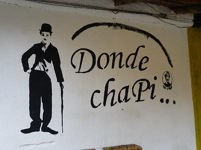 Bistro in Santa Elena - Chaplin