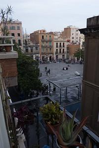 Plaça del Sol, from Olga's balcony
