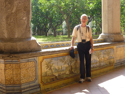 Don in Santa Chiara Cloister