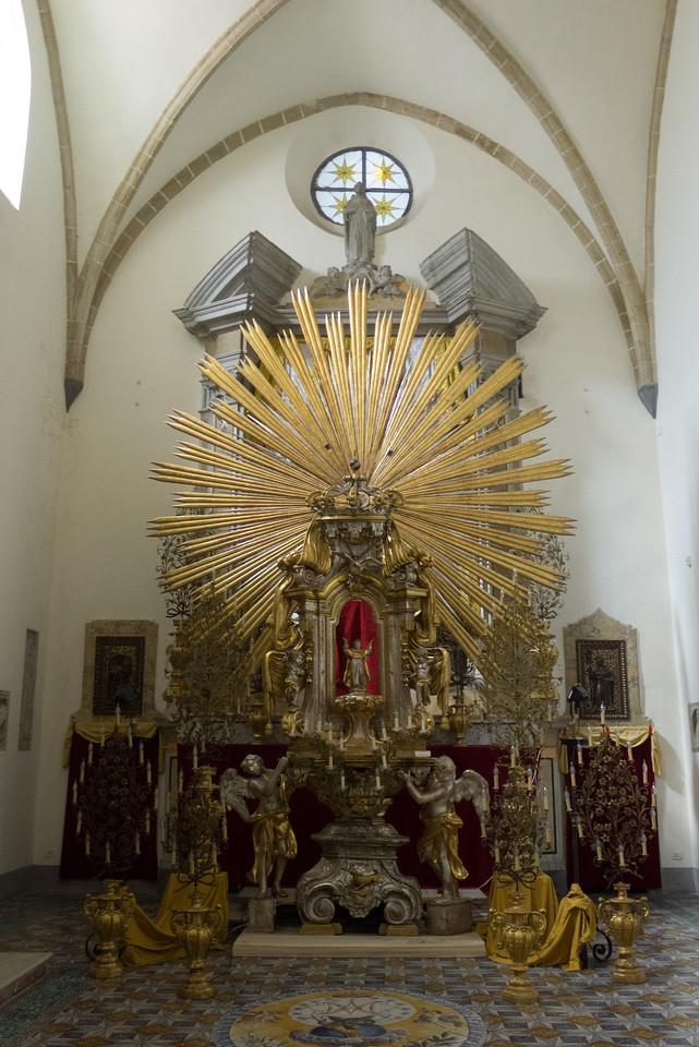 Chiesa di San Domenico Maggiore, Bocca d'Opera